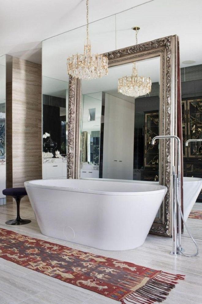 Cách thiết kế nhà tắm cực đẹp cho một năm mới vừa thoải mái lại hạnh phúc - Ảnh 10.