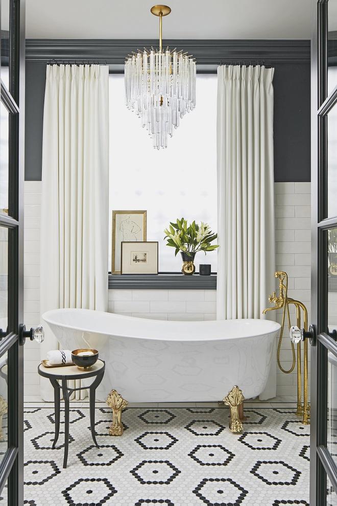 Cách thiết kế nhà tắm cực đẹp cho một năm mới vừa thoải mái lại hạnh phúc - Ảnh 12.