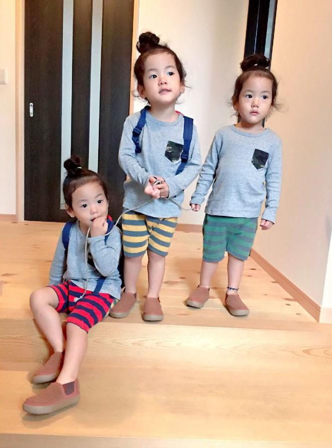 """Mẹ Nhật hot rần rần khi khoe ảnh gia đình với 1 cặp sinh đôi, 1 cặp sinh ba, đi đâu cũng """"ton sur ton"""" - Ảnh 22."""
