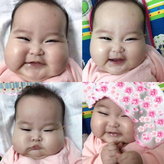 Em bé Hà Nội xinh như búp bê với đôi má bánh bao ai nhìn cũng muốn… cắn - Ảnh 15.