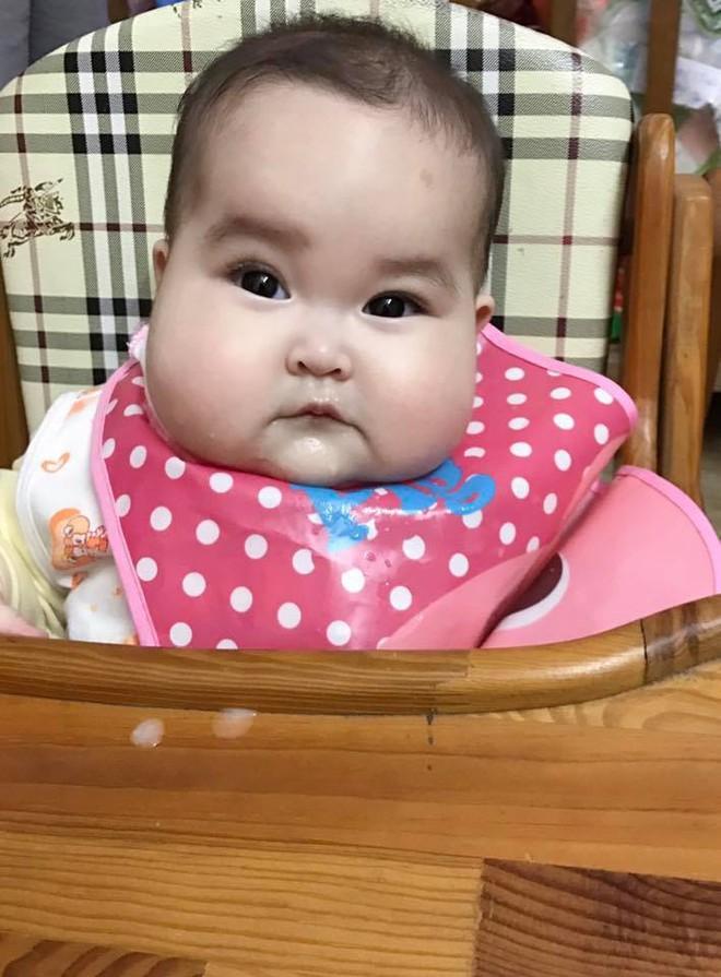 Em bé Hà Nội xinh như búp bê với đôi má bánh bao ai nhìn cũng muốn… cắn - Ảnh 17.