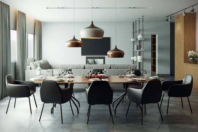 Tham khảo ngay những mẫu thiết kế này nếu bạn muốn có một phòng ăn đẹp miễn chê - Ảnh 5.