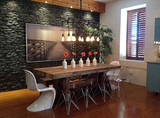 Tham khảo ngay những mẫu thiết kế này nếu bạn muốn có một phòng ăn đẹp miễn chê - Ảnh 6.