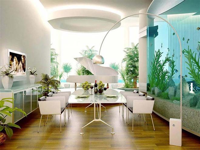 Tham khảo ngay những mẫu thiết kế này nếu bạn muốn có một phòng ăn đẹp miễn chê - Ảnh 10.