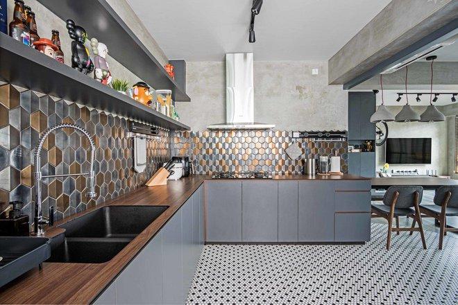 Những căn bếp mang phong cách công nghiệp khiến bạn chẳng thể làm ngơ - Ảnh 4.
