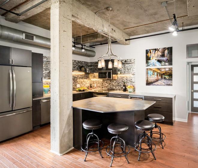 Những căn bếp mang phong cách công nghiệp khiến bạn chẳng thể làm ngơ - Ảnh 5.