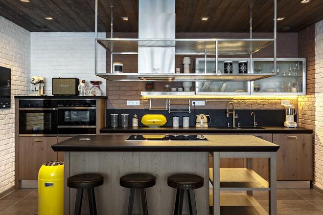 Những căn bếp mang phong cách công nghiệp khiến bạn chẳng thể làm ngơ - Ảnh 7.