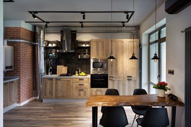 Những căn bếp mang phong cách công nghiệp khiến bạn chẳng thể làm ngơ - Ảnh 11.