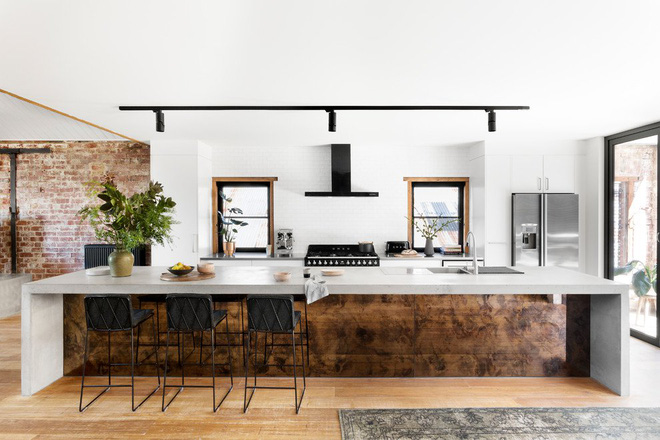 Những căn bếp mang phong cách công nghiệp khiến bạn chẳng thể làm ngơ - Ảnh 14.