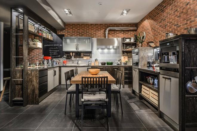 Những căn bếp mang phong cách công nghiệp khiến bạn chẳng thể làm ngơ - Ảnh 17.