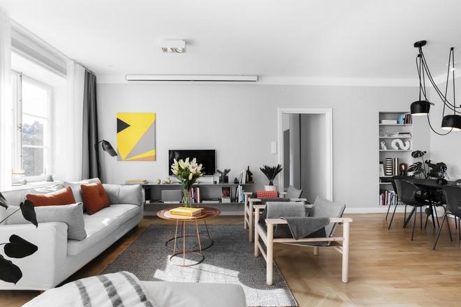 Cứ đẹp nhẹ nhàng thế thôi cũng đủ khiến bao người phát ghen với phòng khách nhà bạn rồi - Ảnh 1.