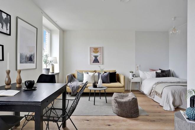 Cứ đẹp nhẹ nhàng thế thôi cũng đủ khiến bao người phát ghen với phòng khách nhà bạn rồi - Ảnh 4.