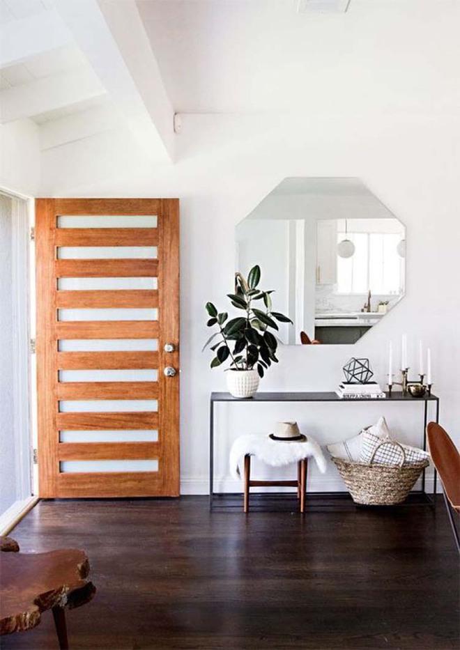 Chỉ cần một chiếc bàn nhỏ đủ khiến cho lối hành lang gia đình bạn ghi điểm   - Ảnh 3.