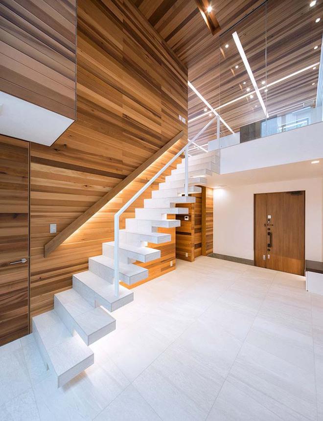 Nếu bạn nghĩ đơn giản sẽ khó tạo ấn tượng thì phải nhìn ngay những mẫu cầu thang này - Ảnh 4.