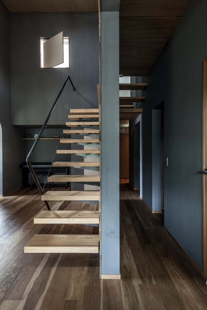 Nếu bạn nghĩ đơn giản sẽ khó tạo ấn tượng thì phải nhìn ngay những mẫu cầu thang này - Ảnh 6.