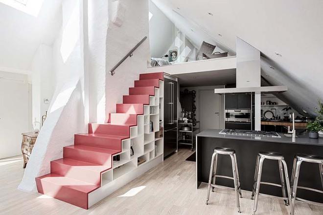Nếu bạn nghĩ đơn giản sẽ khó tạo ấn tượng thì phải nhìn ngay những mẫu cầu thang này - Ảnh 10.
