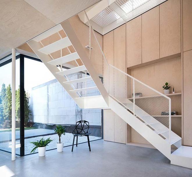 Nếu bạn nghĩ đơn giản sẽ khó tạo ấn tượng thì phải nhìn ngay những mẫu cầu thang này - Ảnh 11.