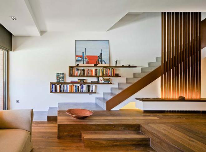 Nếu bạn nghĩ đơn giản sẽ khó tạo ấn tượng thì phải nhìn ngay những mẫu cầu thang này - Ảnh 12.