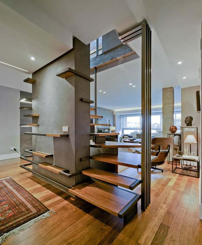 Nếu bạn nghĩ đơn giản sẽ khó tạo ấn tượng thì phải nhìn ngay những mẫu cầu thang này - Ảnh 13.
