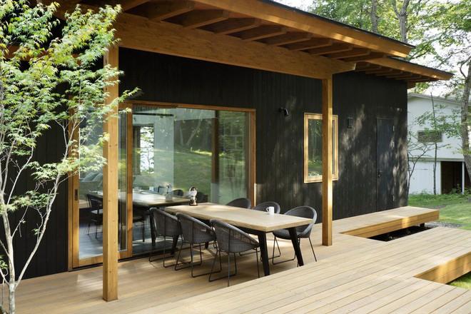 Ghi điểm tuyệt đối với khách đến nhà bằng những mẫu hiên nhà tuyệt vời này - Ảnh 8.