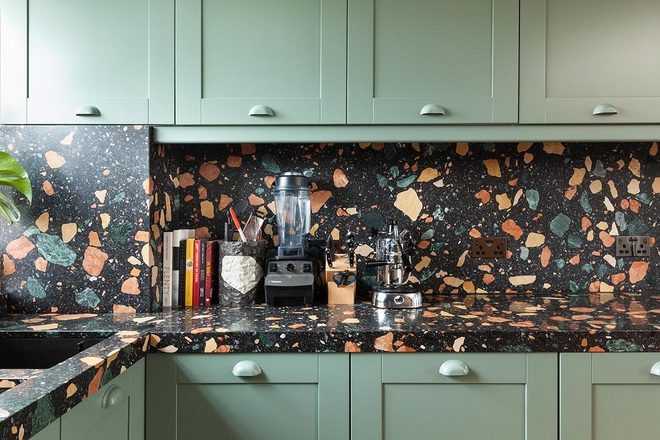 Bạn đã biết gì chưa, xu hướng sử dụng vật liệu đá mài granito đã quay trở lại trong thiết kế nhà và lợi hại hơn xưa - Ảnh 5.