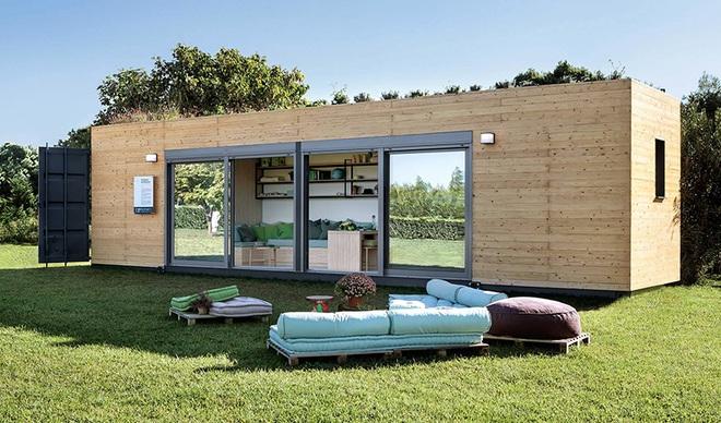 Ngôi nhà sinh thái bằng gỗ thân thiện với môi trường được hoàn thiện chỉ trong 1 tháng   - Ảnh 1.