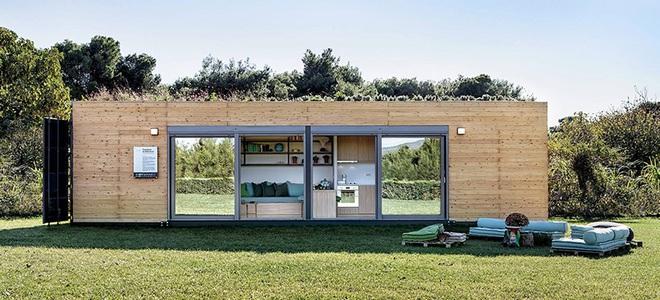 Ngôi nhà sinh thái bằng gỗ thân thiện với môi trường được hoàn thiện chỉ trong 1 tháng   - Ảnh 3.