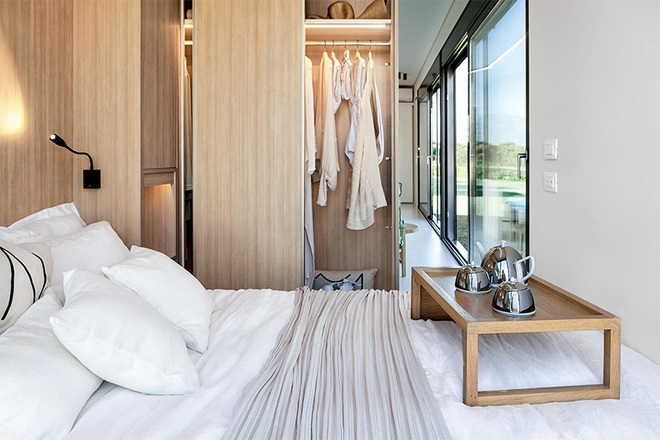 Ngôi nhà sinh thái bằng gỗ thân thiện với môi trường được hoàn thiện chỉ trong 1 tháng   - Ảnh 5.