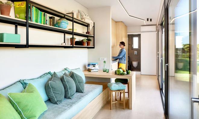 Ngôi nhà sinh thái bằng gỗ thân thiện với môi trường được hoàn thiện chỉ trong 1 tháng   - Ảnh 9.