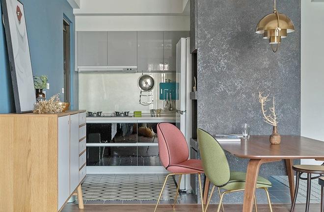 Căn hộ nhỏ vỏn vẹn 35m² trang trí theo phong cách Retro đẹp mê mẩn của cặp vợ chồng trẻ - Ảnh 9.