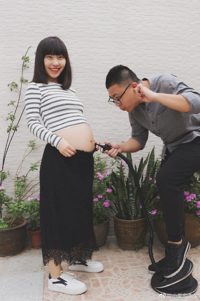 Chỉ với 9 bức ảnh, cặp vợ chồng trẻ đã kể hành trình mang thai - sinh con theo cách chẳng giống ai - Ảnh 6.