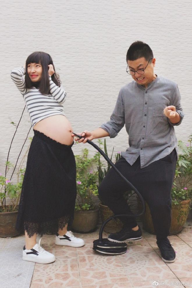 Chỉ với 9 bức ảnh, cặp vợ chồng trẻ đã kể hành trình mang thai - sinh con theo cách chẳng giống ai - Ảnh 7.