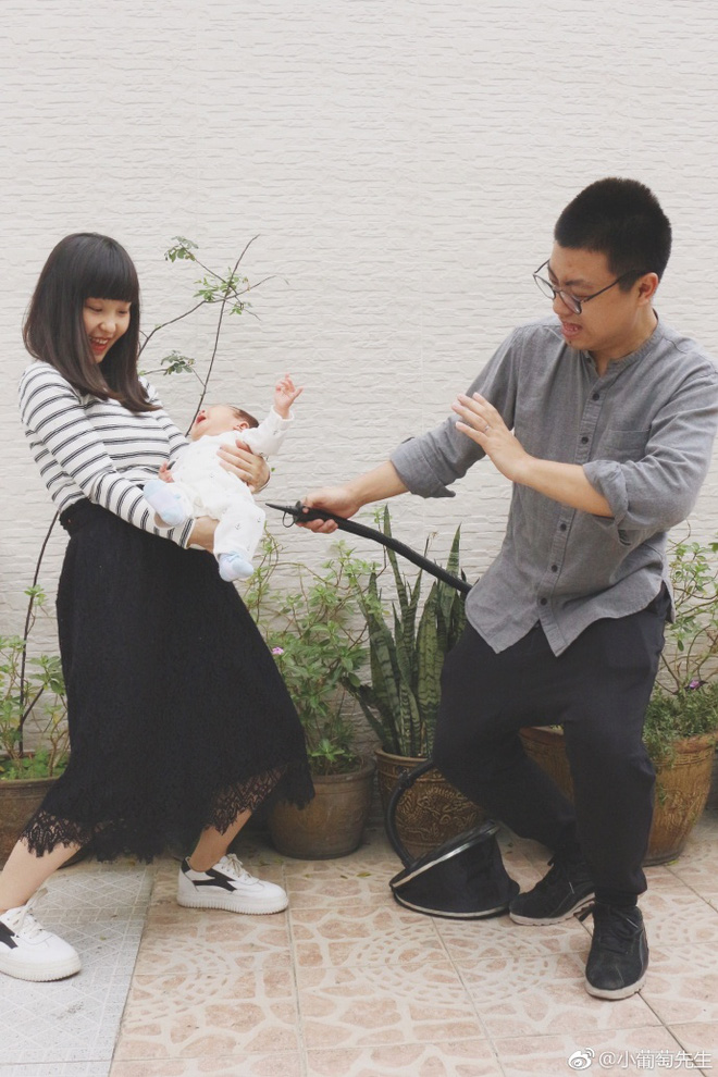 Chỉ với 9 bức ảnh, cặp vợ chồng trẻ đã kể hành trình mang thai - sinh con theo cách chẳng giống ai - Ảnh 10.