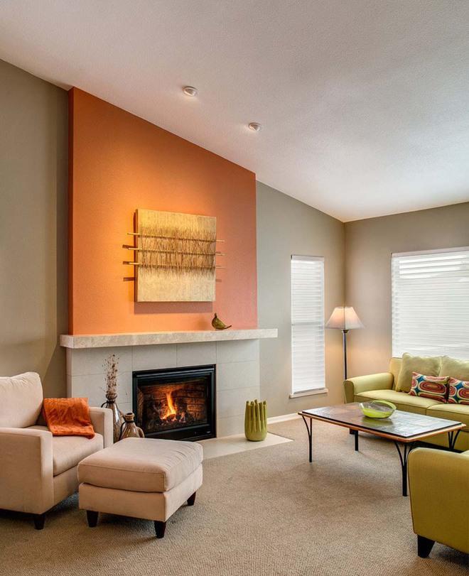 Lịm tim với những căn phòng khách kết hợp hài hòa giữa truyền thống và hiện đại - Ảnh 1.