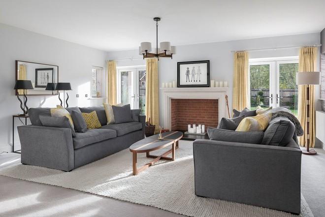 Lịm tim với những căn phòng khách kết hợp hài hòa giữa truyền thống và hiện đại - Ảnh 6.