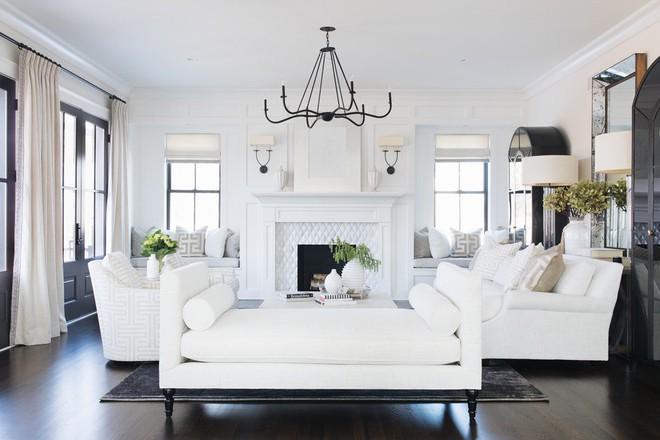 Lịm tim với những căn phòng khách kết hợp hài hòa giữa truyền thống và hiện đại - Ảnh 10.