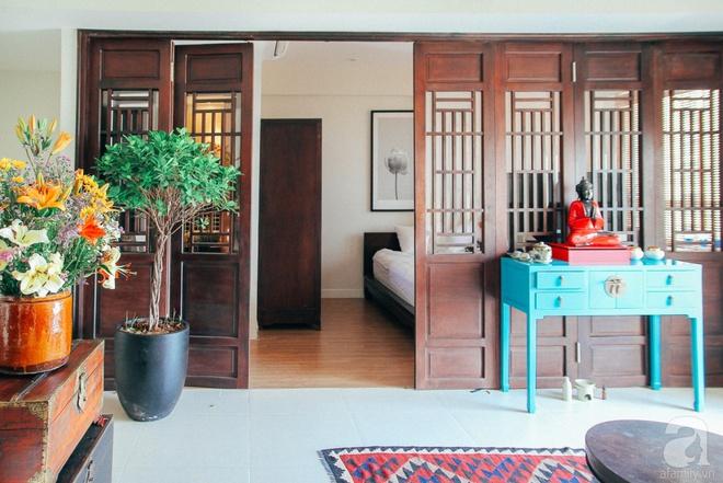 Phảng phất nét xưa trong căn hộ của người đàn ông yêu vẻ đẹp truyền thống Việt ở Sài Gòn - Ảnh 4.