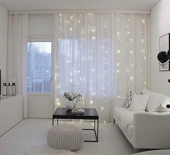 Những điều bạn cần phải biết về việc sử dụng đèn dây trong trang trí phòng khách - Ảnh 7.