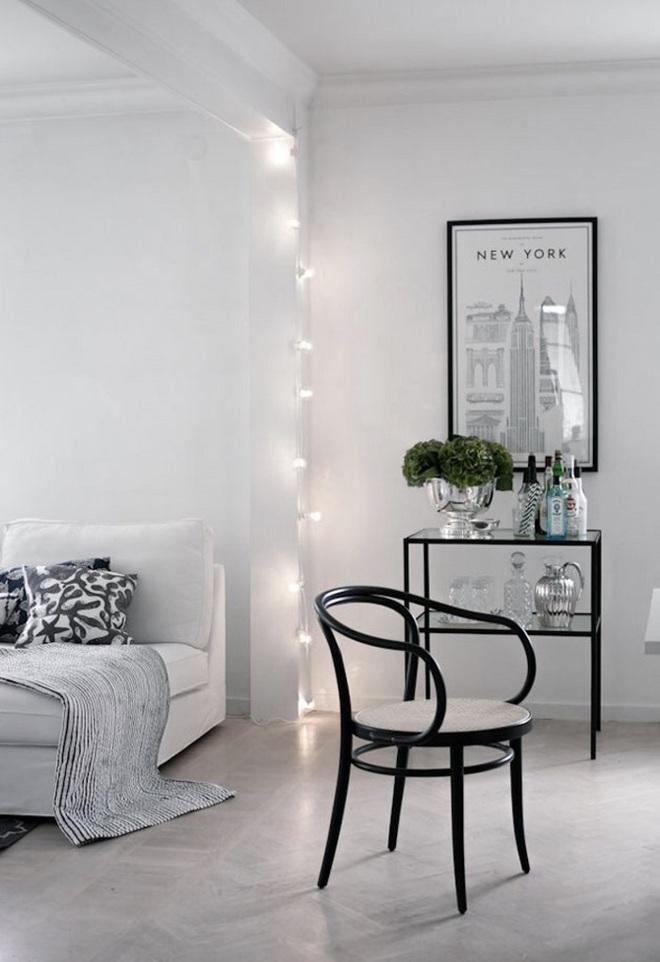 Những điều bạn cần phải biết về việc sử dụng đèn dây trong trang trí phòng khách - Ảnh 11.