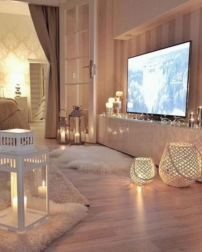 Những điều bạn cần phải biết về việc sử dụng đèn dây trong trang trí phòng khách - Ảnh 12.