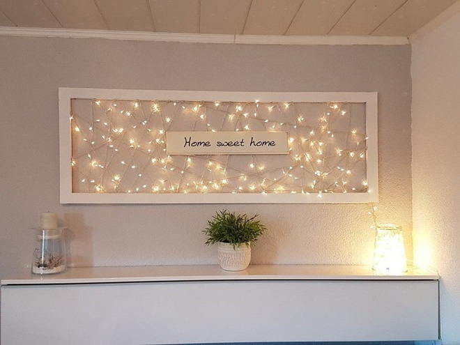 Những điều bạn cần phải biết về việc sử dụng đèn dây trong trang trí phòng khách - Ảnh 17.