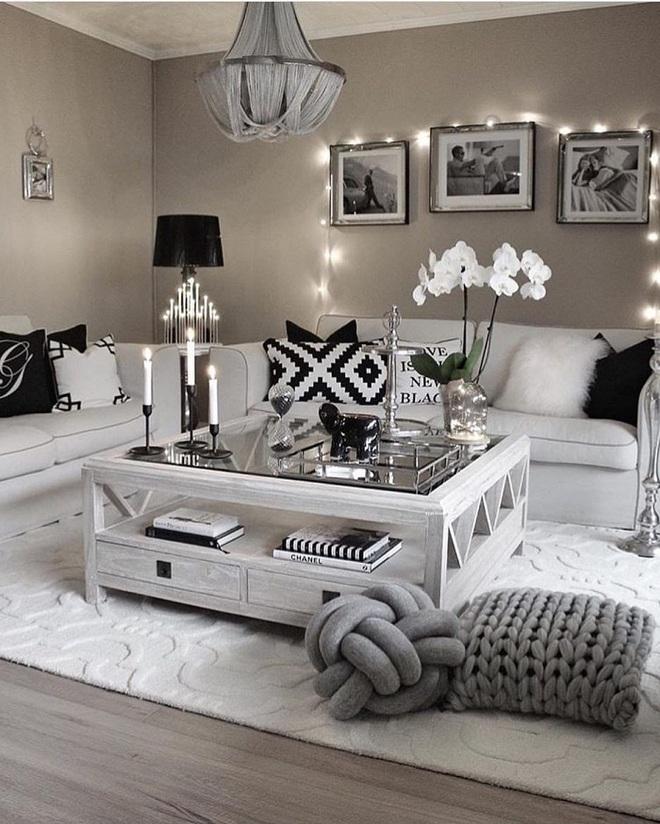 Những điều bạn cần phải biết về việc sử dụng đèn dây trong trang trí phòng khách - Ảnh 18.