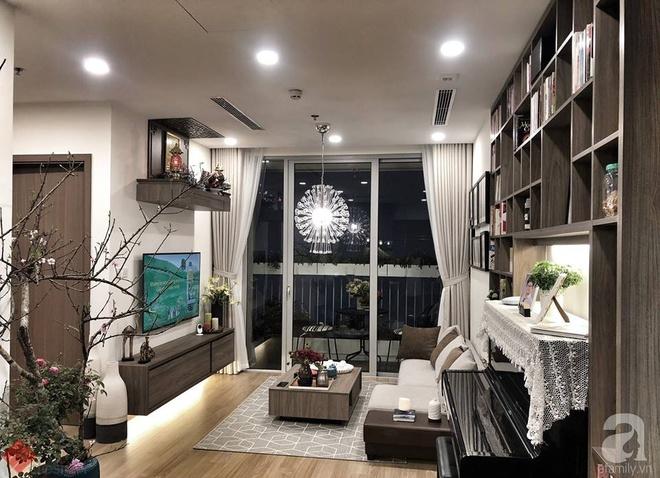 Tận hưởng cuộc sống đúng nghĩa trên tầng cao trong căn hộ nhỏ 72.6m² đẹp như căn hộ mẫu ở Hà Nội - Ảnh 1.
