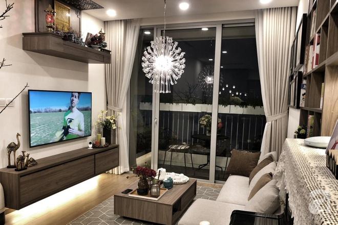 Tận hưởng cuộc sống đúng nghĩa trên tầng cao trong căn hộ nhỏ 72.6m² đẹp như căn hộ mẫu ở Hà Nội - Ảnh 2.