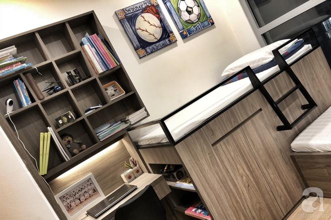 Tận hưởng cuộc sống đúng nghĩa trên tầng cao trong căn hộ nhỏ 72.6m² đẹp như căn hộ mẫu ở Hà Nội - Ảnh 13.