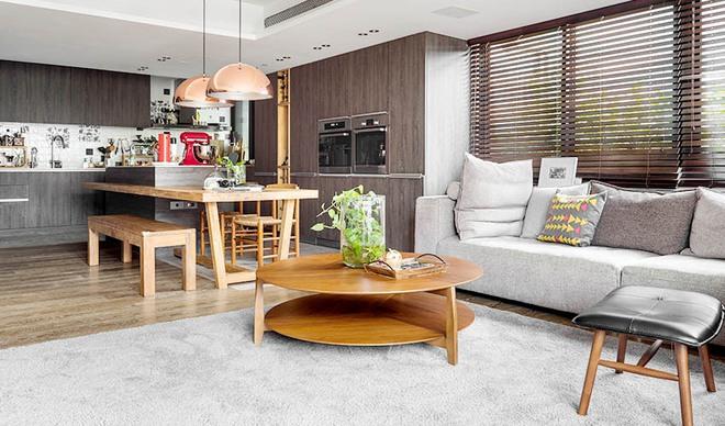 Căn hộ cuốn hút mọi ánh nhìn nhờ ưu ái thiết kế với chất liệu gỗ - Ảnh 5.