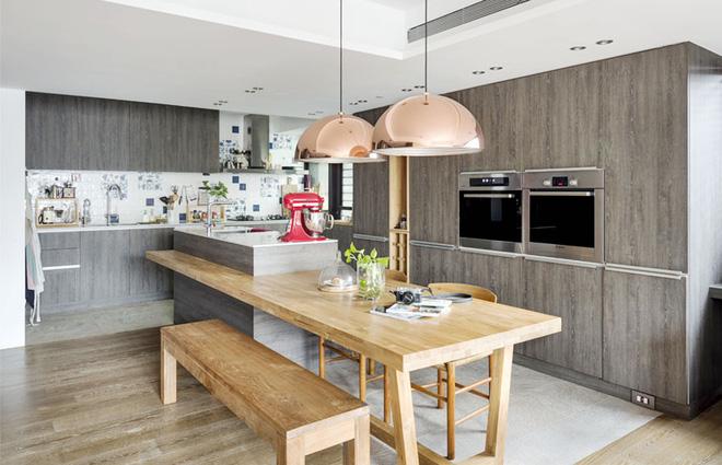 Căn hộ cuốn hút mọi ánh nhìn nhờ ưu ái thiết kế với chất liệu gỗ - Ảnh 6.