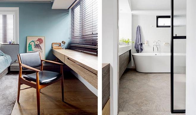 Căn hộ cuốn hút mọi ánh nhìn nhờ ưu ái thiết kế với chất liệu gỗ - Ảnh 12.