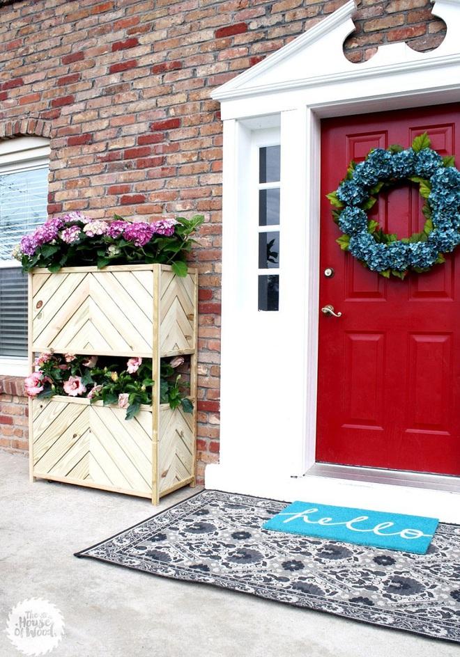 Trang trí nhà với bồn cây - giải pháp tiết kiệm nhưng khiến nhà đẹp bất ngờ - Ảnh 9.