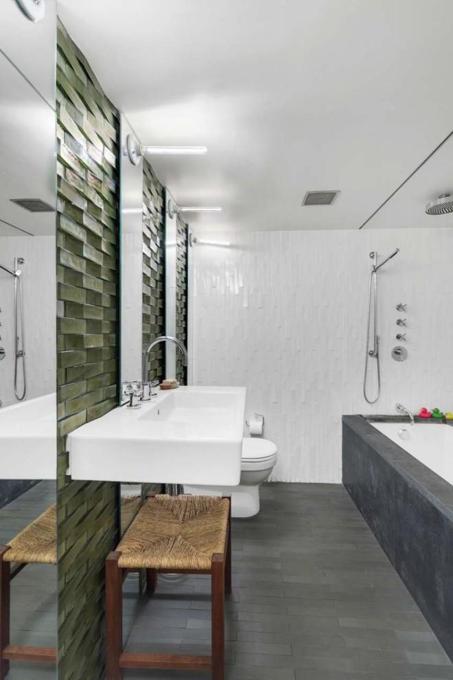 Căn hộ tuyệt đẹp với gác xép và những bức tường kính vô cùng ấn tượng - Ảnh 10.